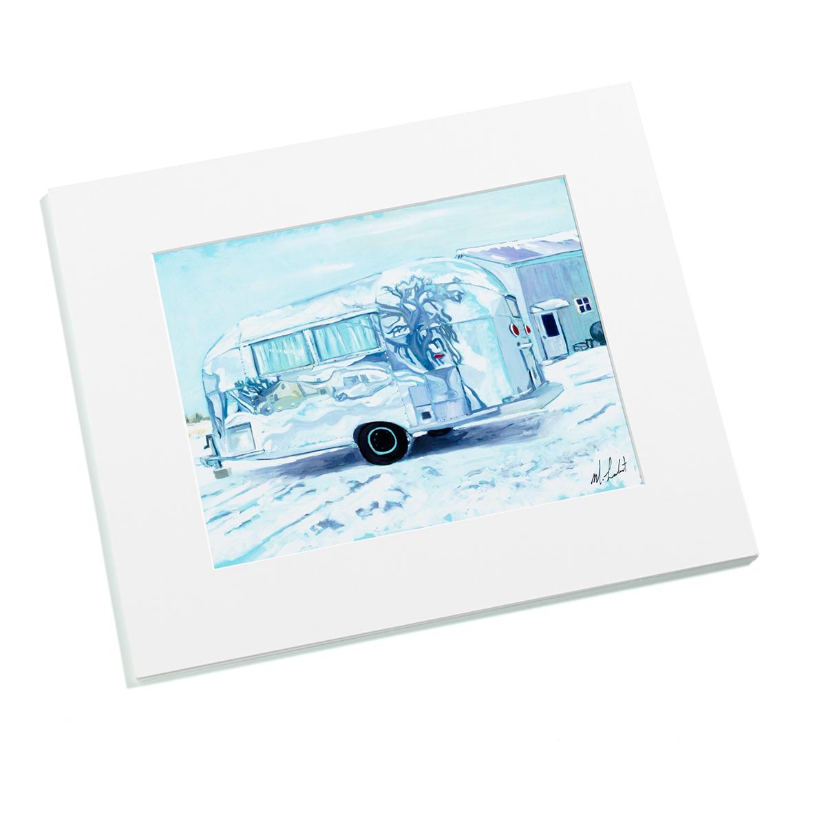 AIRMKT eCom PN 76072W-19 Bambi Winter Art Print Snow White Matte_50358 WEB