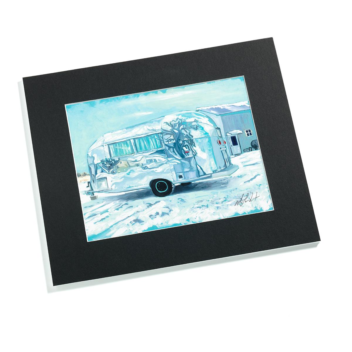 AIRMKT eCom PN 76072W-18 Bambi Winter Art Print Snow Black Matte_50355 WEB