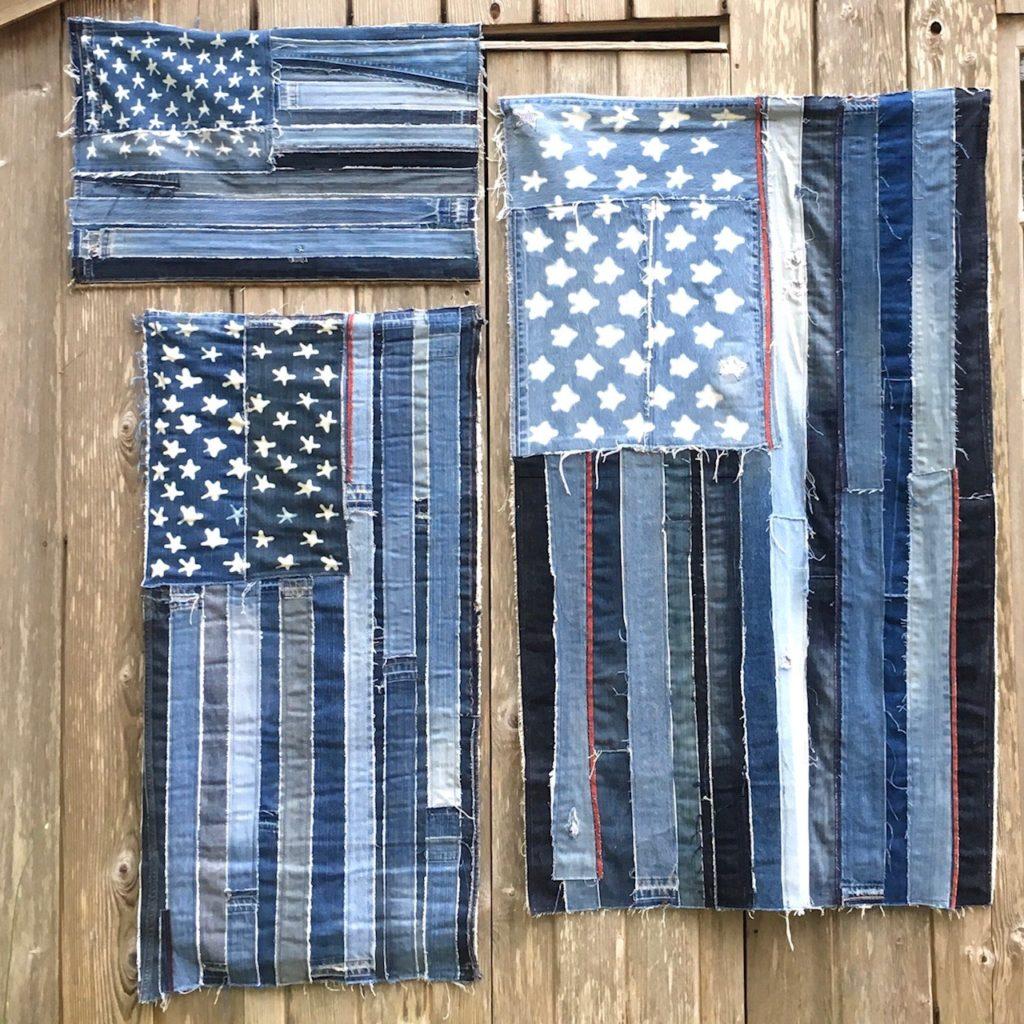 artbya USA flags 3 sizes