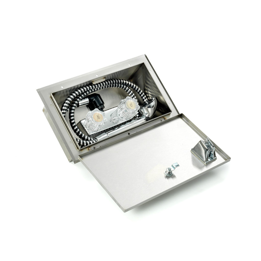 AIRMKT eCom PN 39768W Stainless Steel Upgrade-Exterior Shower Compartment 41865 WEB