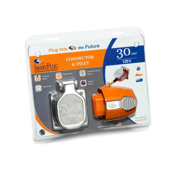 AIRMKT eCom PN 30303W-04 SmartPlug 30 Amp Inlet and Connector Kit B30ASSYNT 42021 WEB