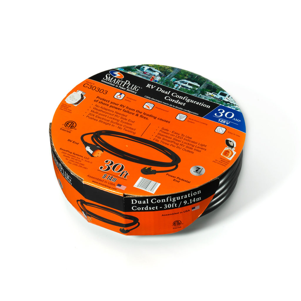 AIRMKT eCom PN 30303W-02 SmartPlug 30 Amp RV Cordset-C30303 41998 WEB