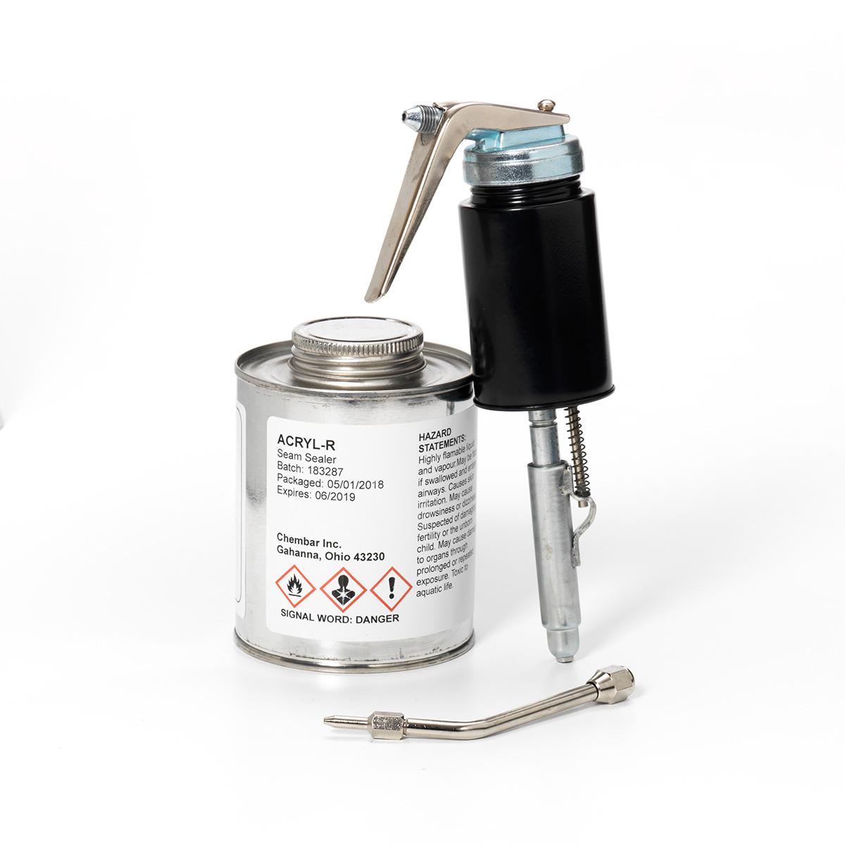 AIRMKT eCom PN 28430W-100 Acryl-R 16 oz Can with Applicator 41420 WEB