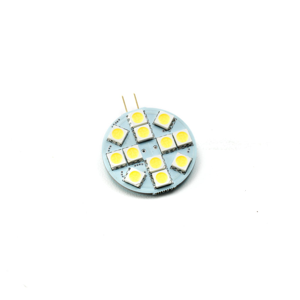 AIRMKT eCom PN 15751W-20 LED Replacement-Halogen Puck Style 12 LED Bright White 42143 WEB