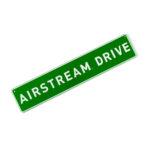 AIRMKT eCom PN 26369W-38 Airstream Drive Street Sign 42958 WEB