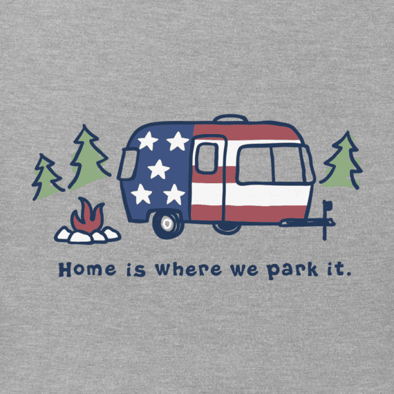 life is good americana womens home is where you park it