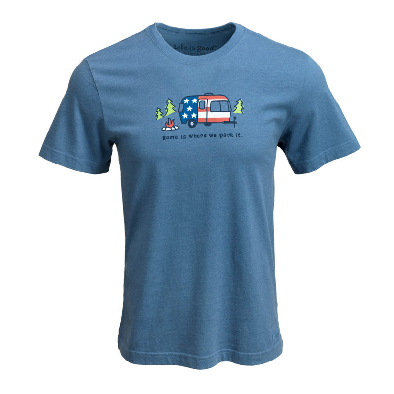 AIRMKT eCom PN XXXXXX Life is Good Home is Where we Park it T Shirt Blue_52307 WEB