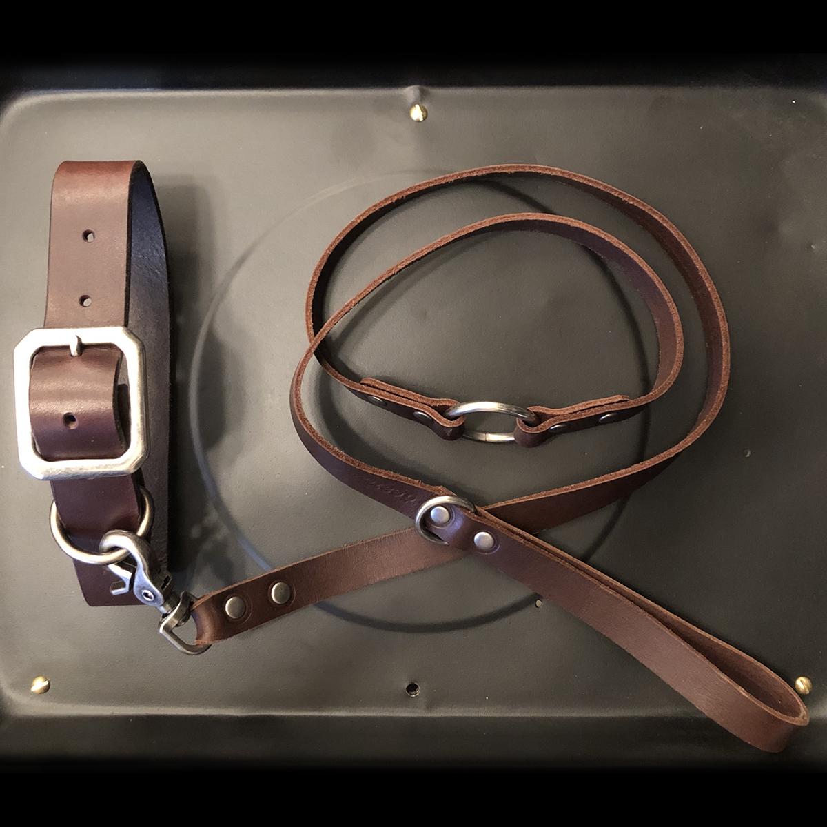AIRMKT eCom PN XXXXXX Dean Accessories _collar leash brown WEB
