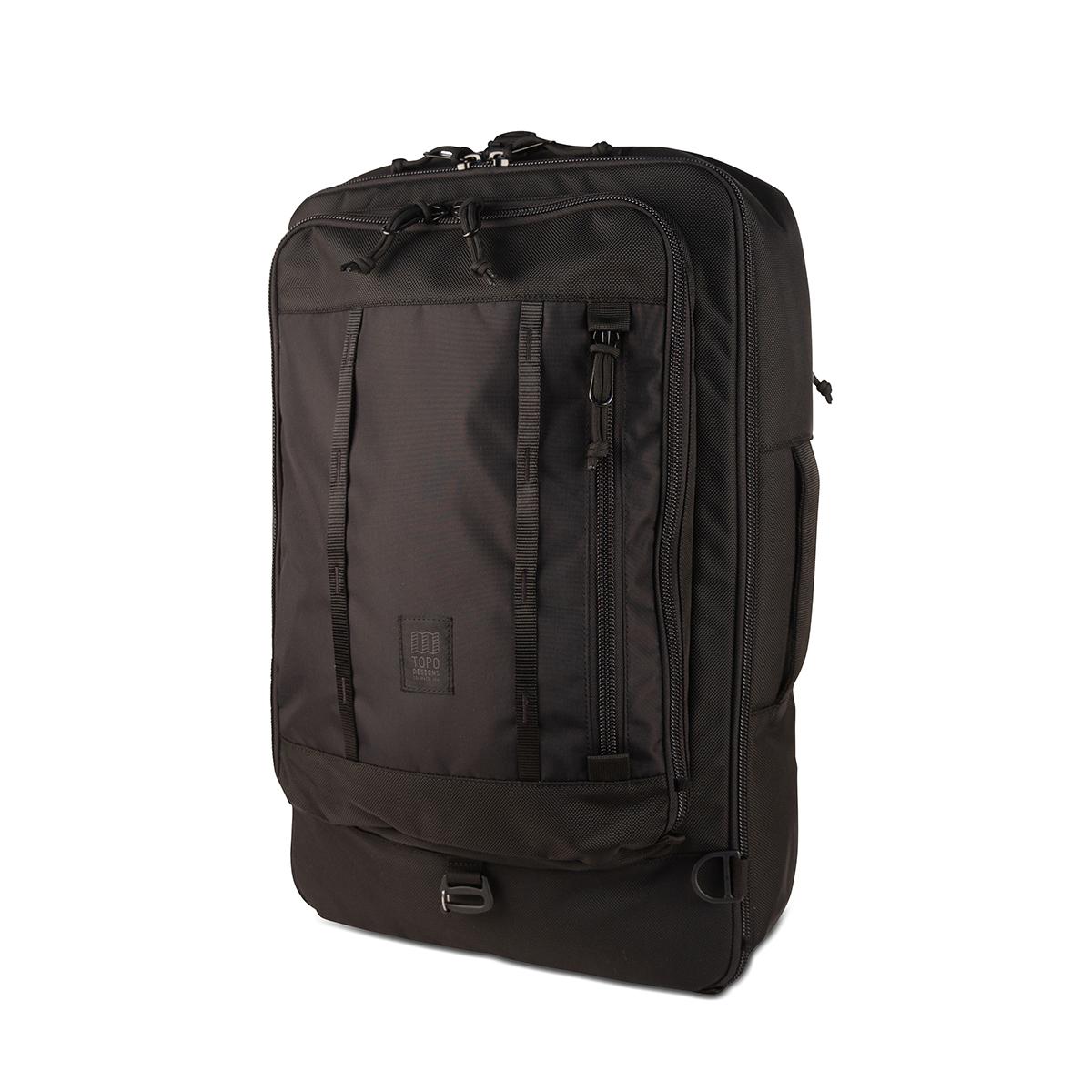 AIRMKT eCom topo travel bag 30L black side WEB
