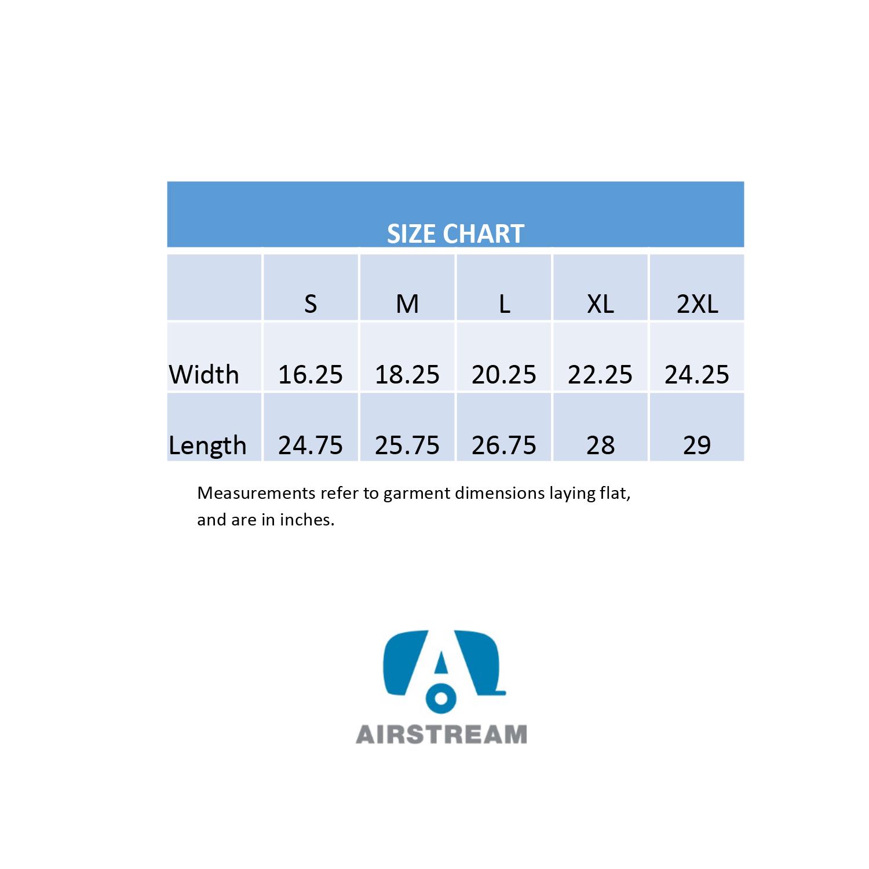 slow loris zip hoody size chart