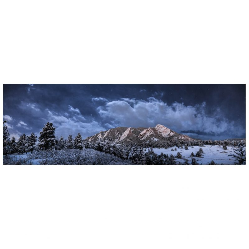 Cullis unframed - Flatirons Cloudy cropped