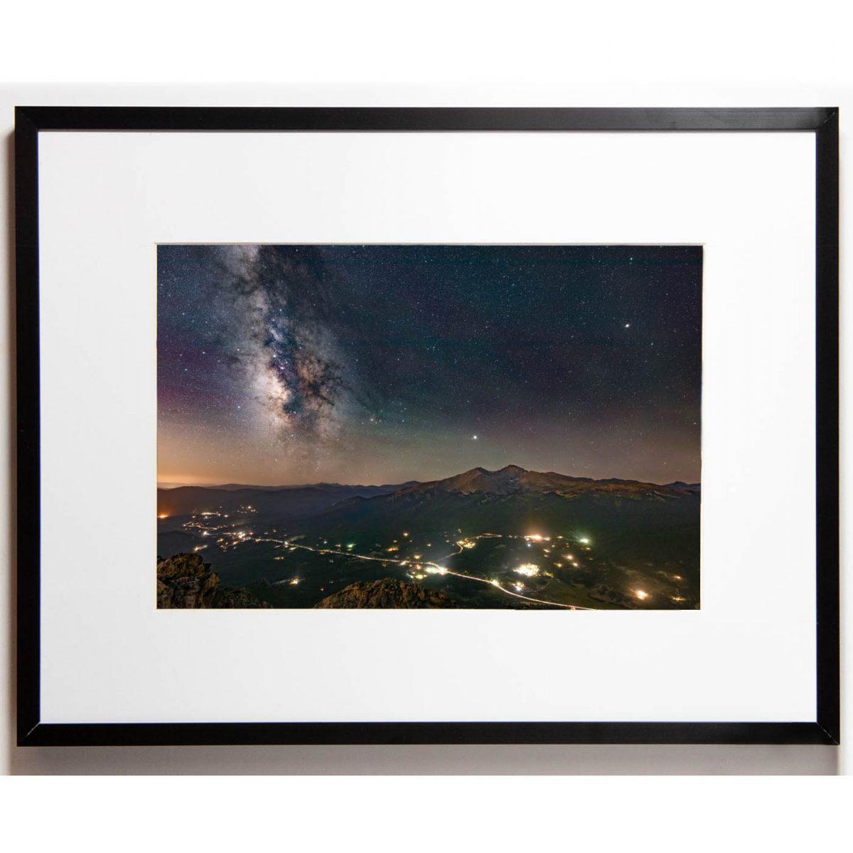 Cullis 8x12 framed - Longs Milky Way cropped