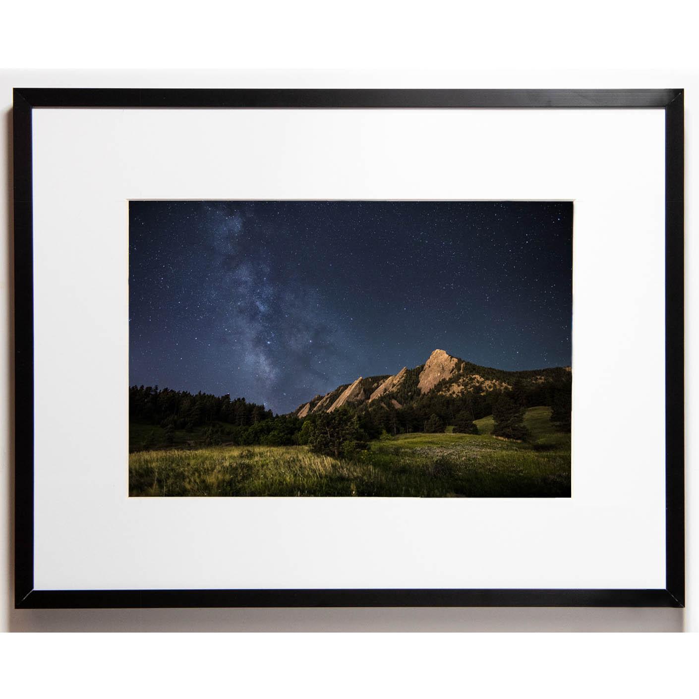 Cullis 8x12 framed - Flatiron Milky Way cropped