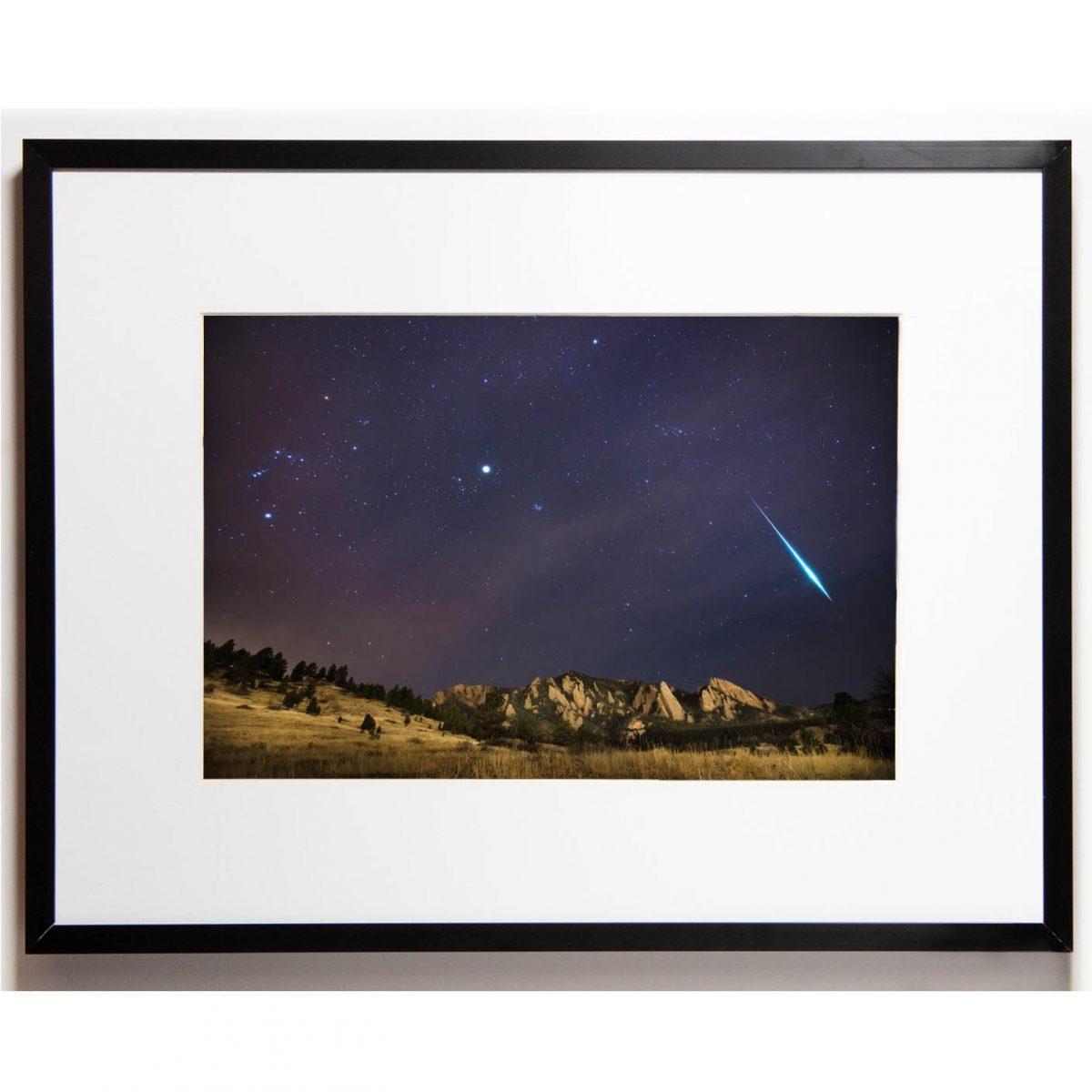 Cullis 8x12 framed - Flatiron Fireball cropped
