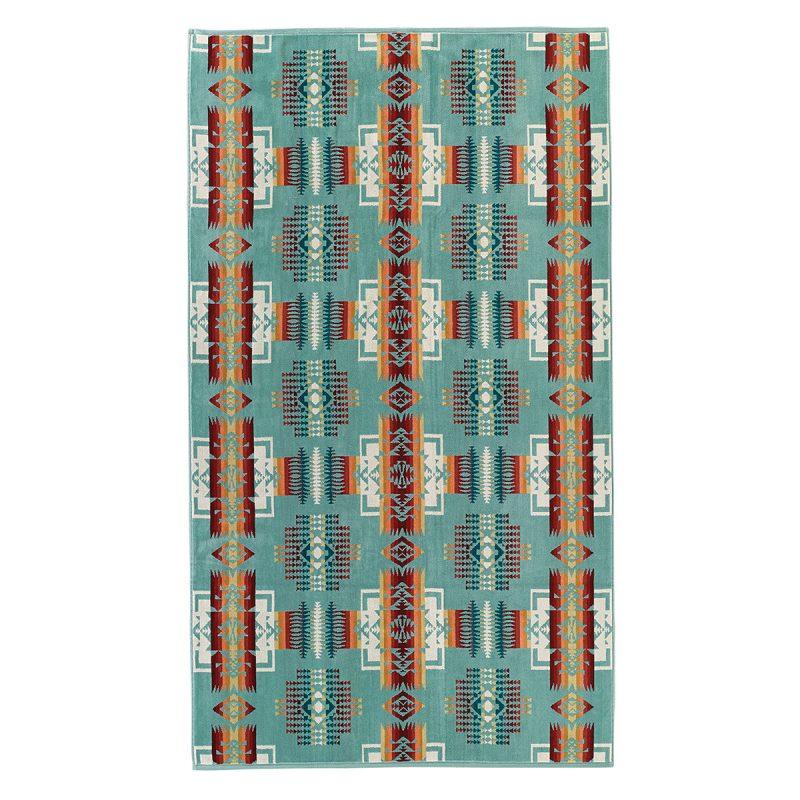 AIRMKT eCom Pendleton XB233-51128 Chief Joseph Aqua Oversized Towel WEB