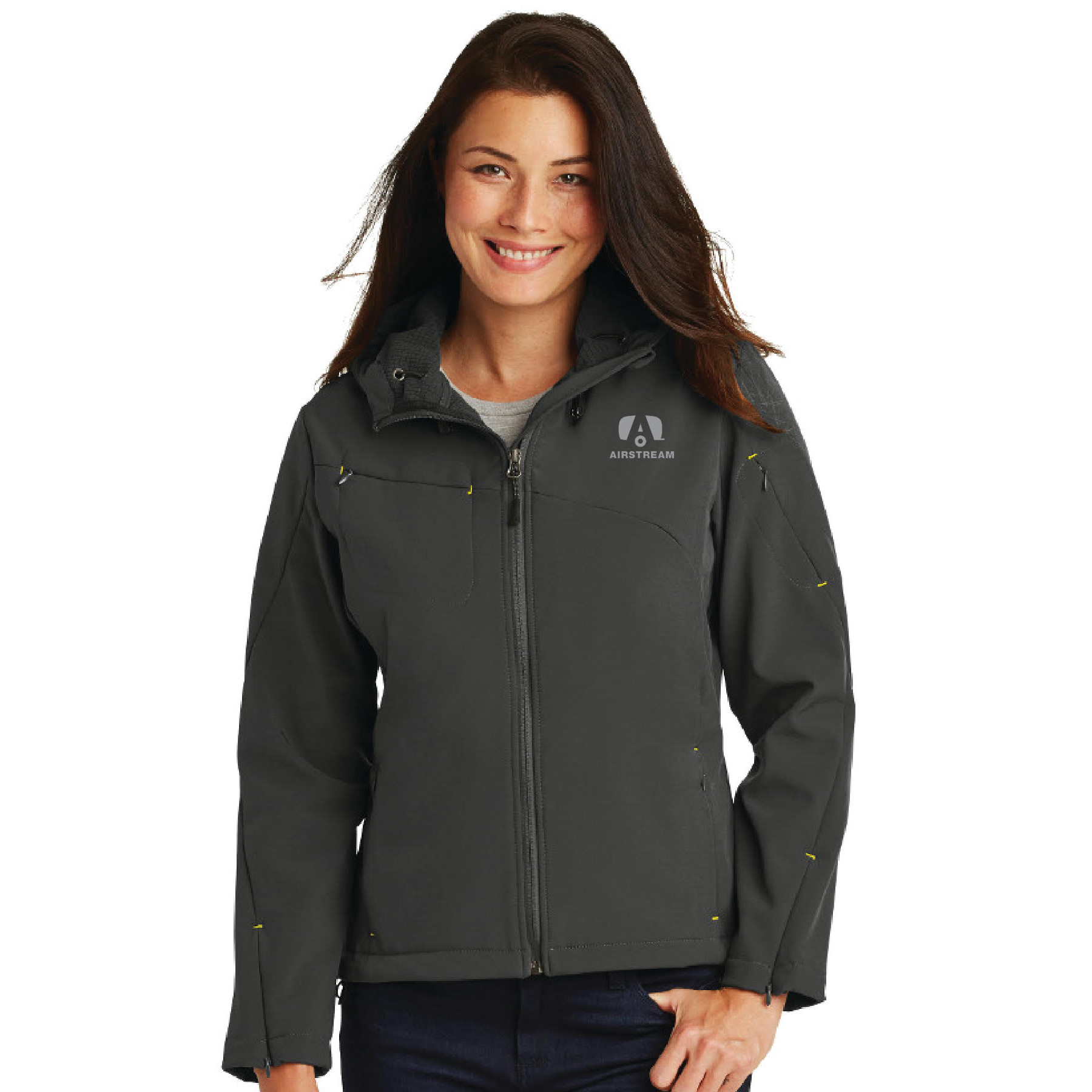 port authority hooded jacket woman
