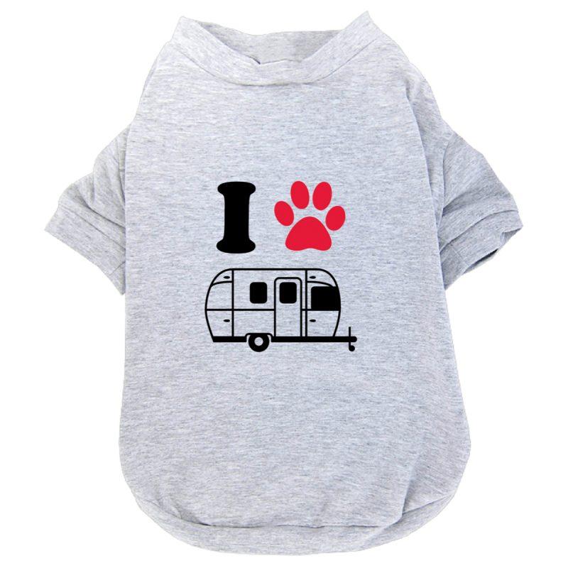 dog paw shirt