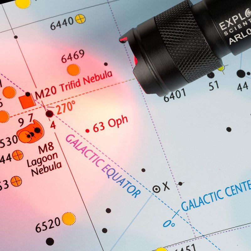 AIRMKT eCom Explore Scientific Red Beam Flashlight ES 4 WEB