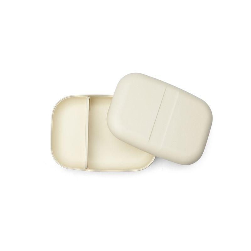 ekobo bento rectangular white