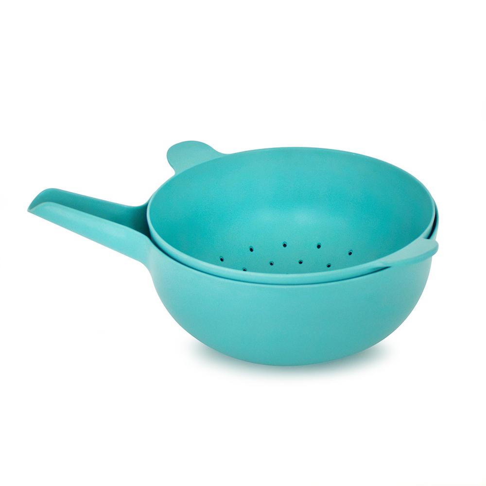 ekobo mixing bowl set large lagoon