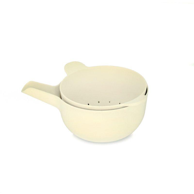 ekobo mixing bowl set small white
