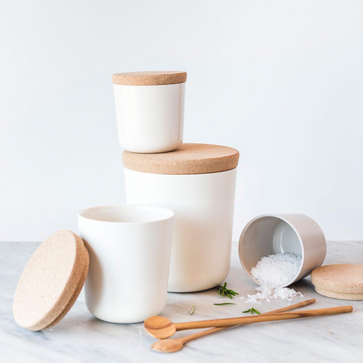 ekobo storage jars 4 sizes