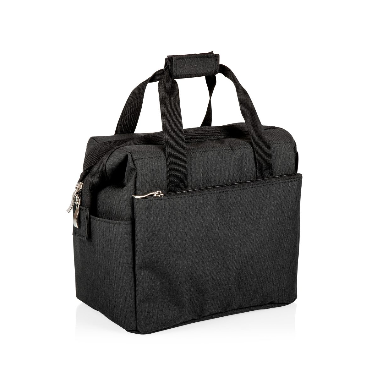 picnic time lunch tote black side