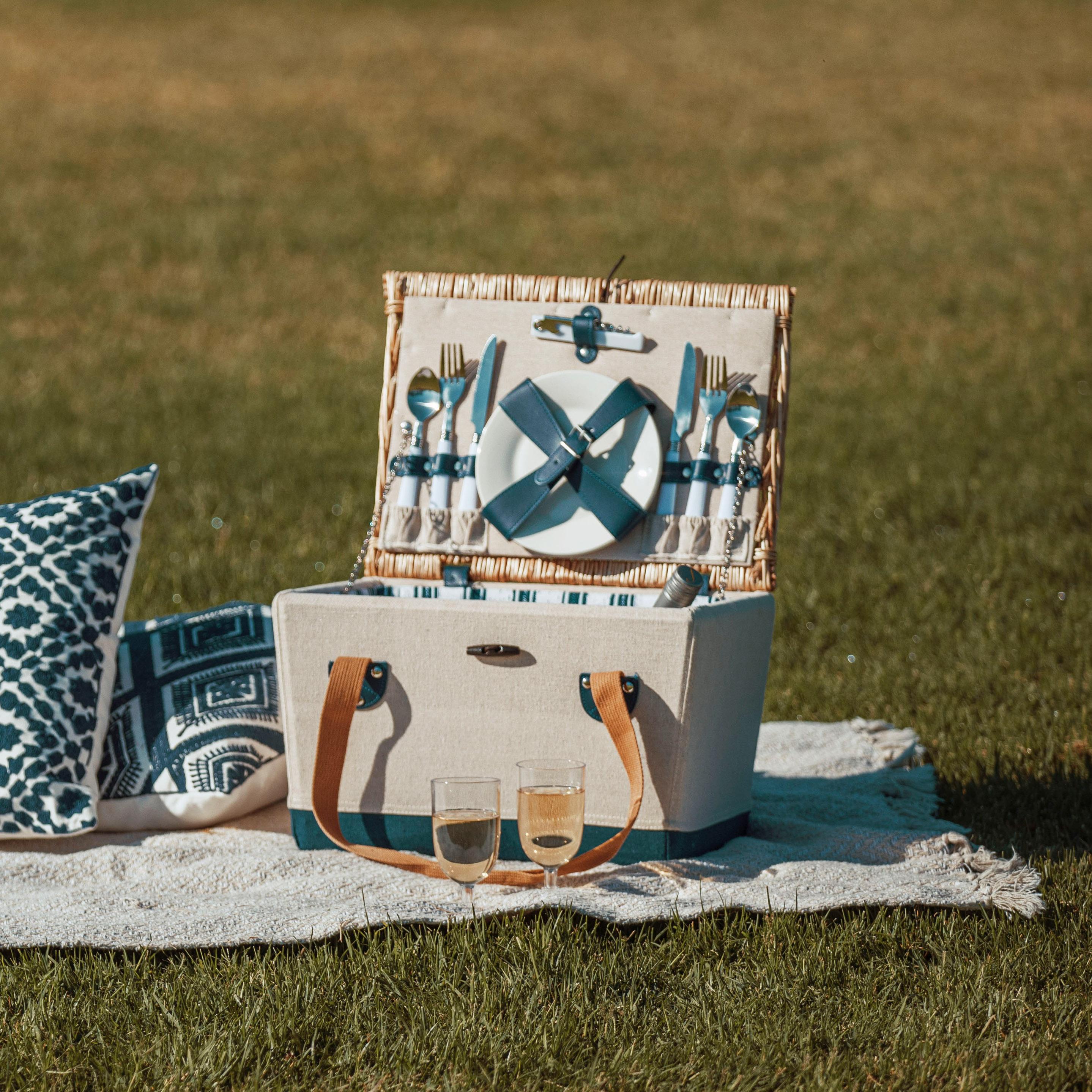 picnic time basket lifestyle