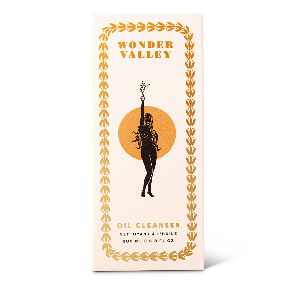 wonder valley facial cleanser box