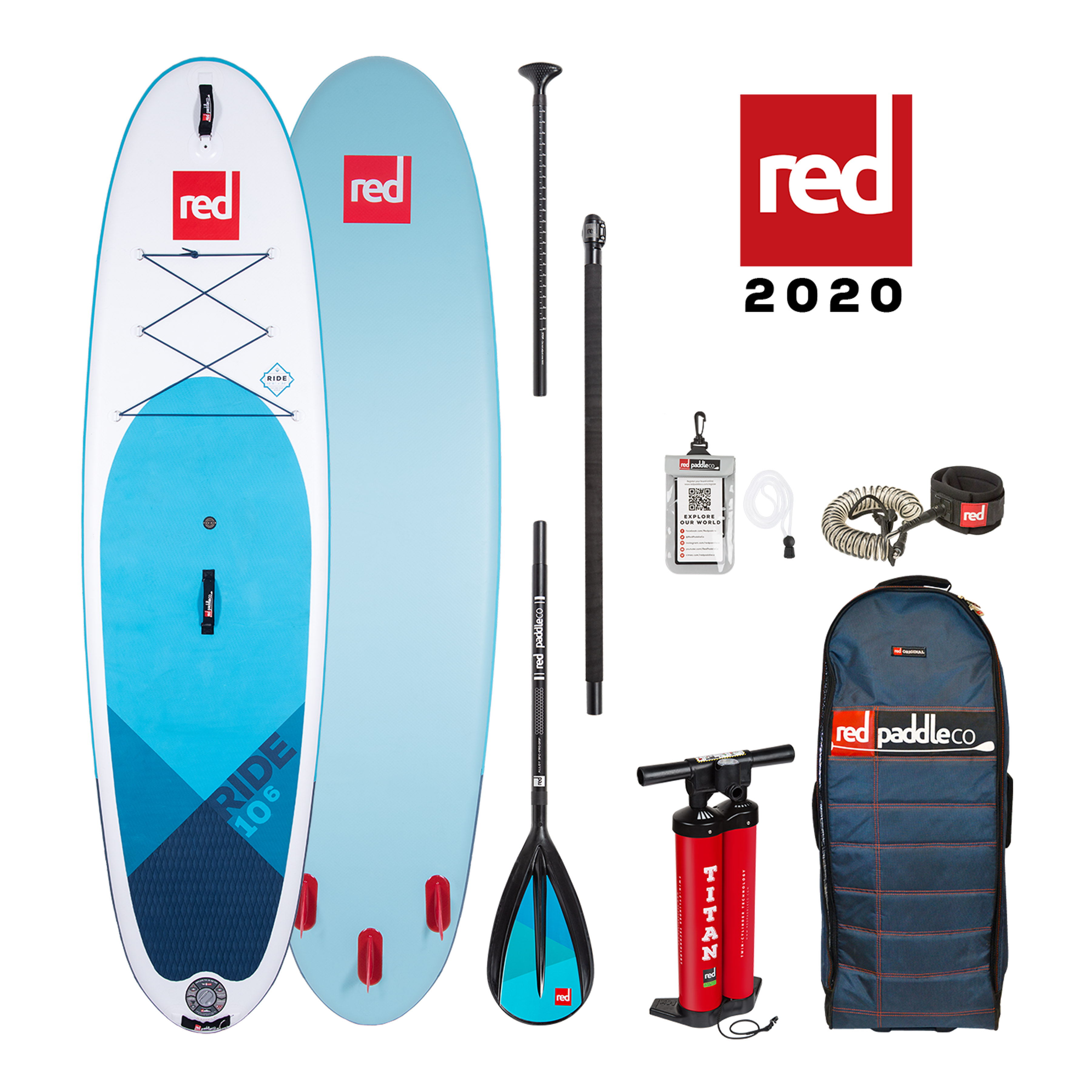 red paddle 10'6 ride package
