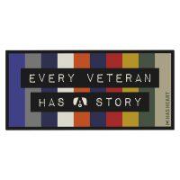 has heart every veteran decal