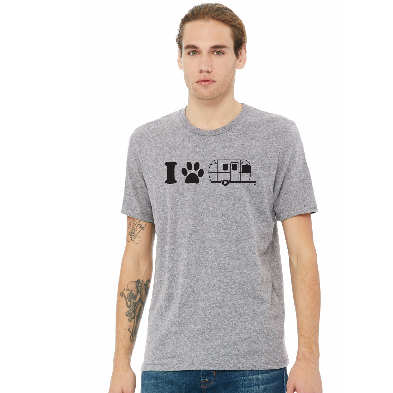 dog paw_mens gray