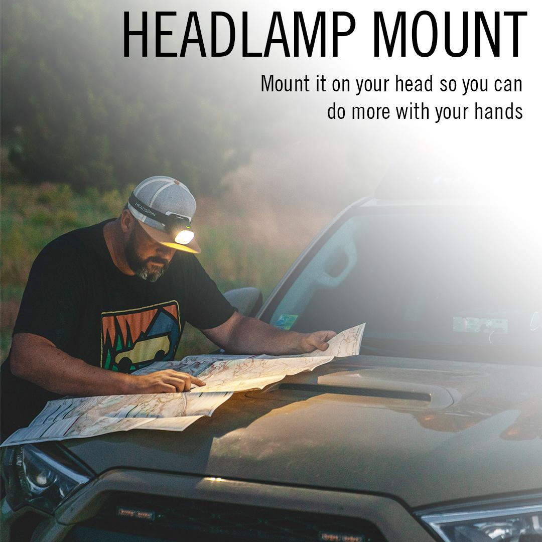 headspin headlamp mount