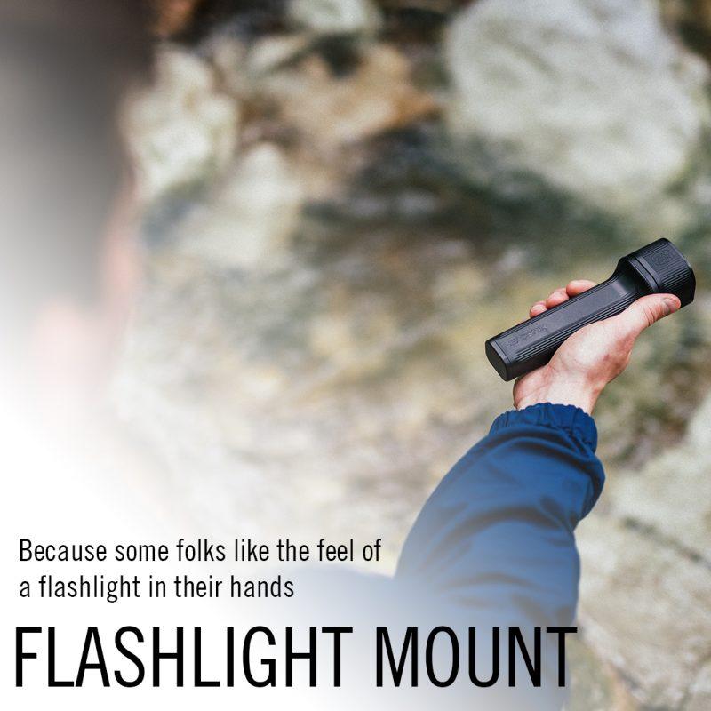 headspin flashlight mount