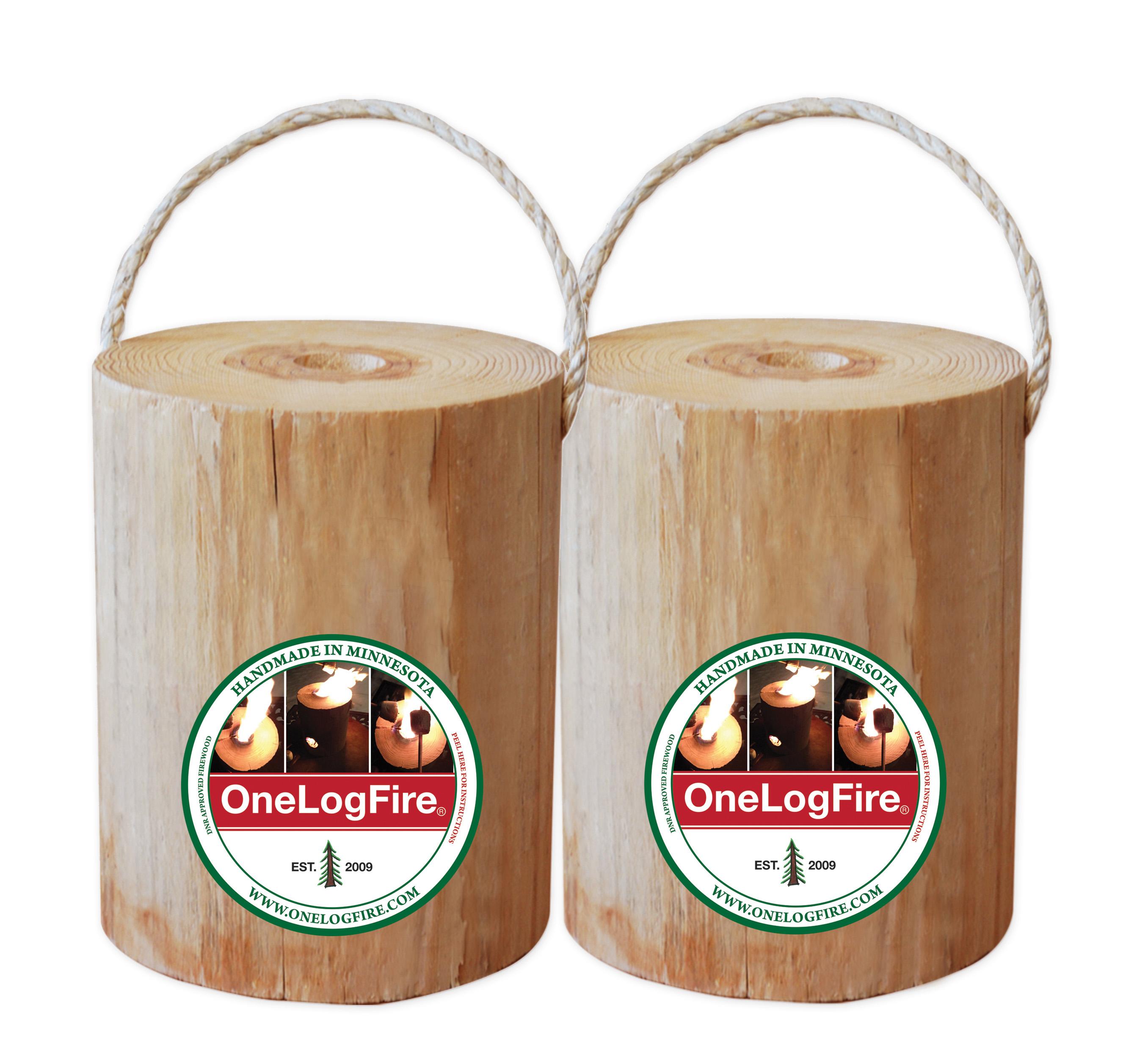 ONE LOG FIRE REGULAR 2 PACK