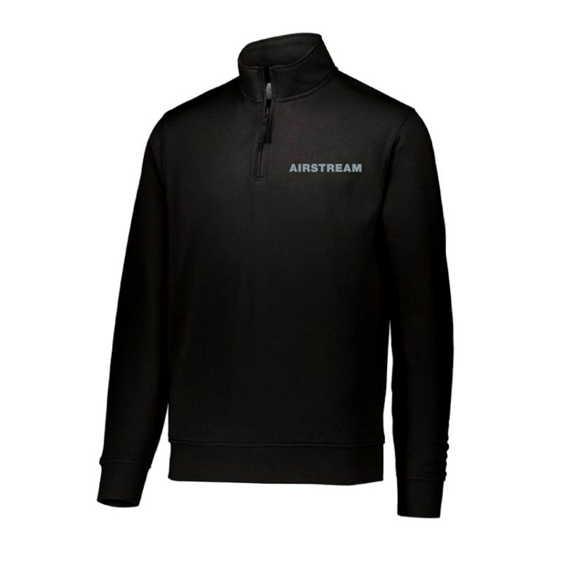 augusta fleece pullover black