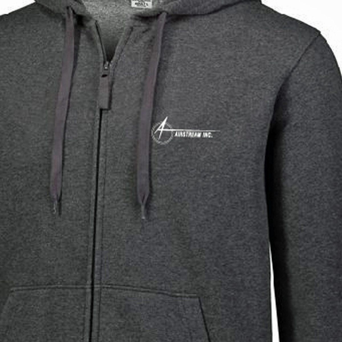 augusta zip hoodie close up