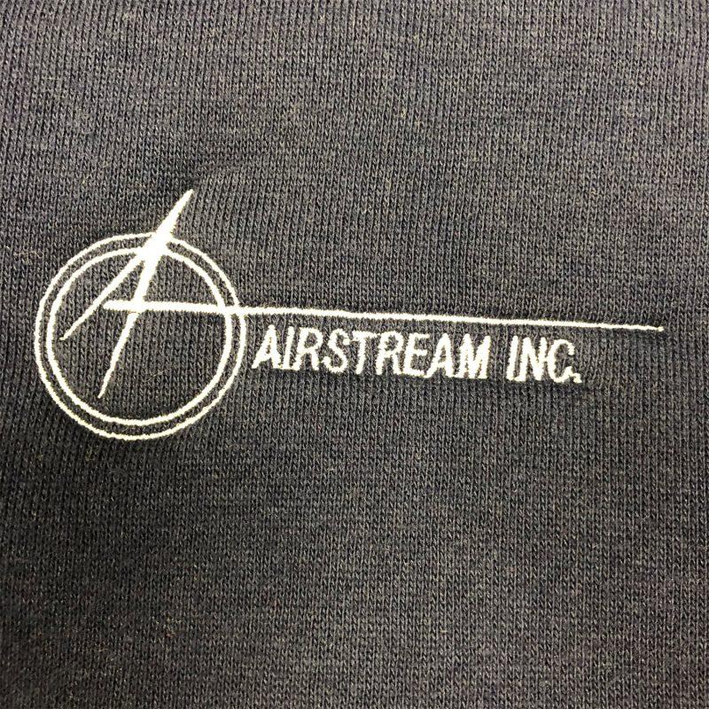 augusta zip hoodie space A logo detail