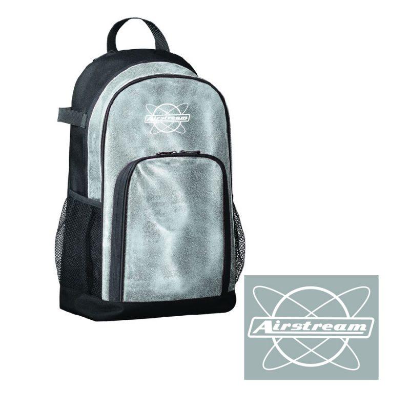 augusta glitter backpack atom art logo revised