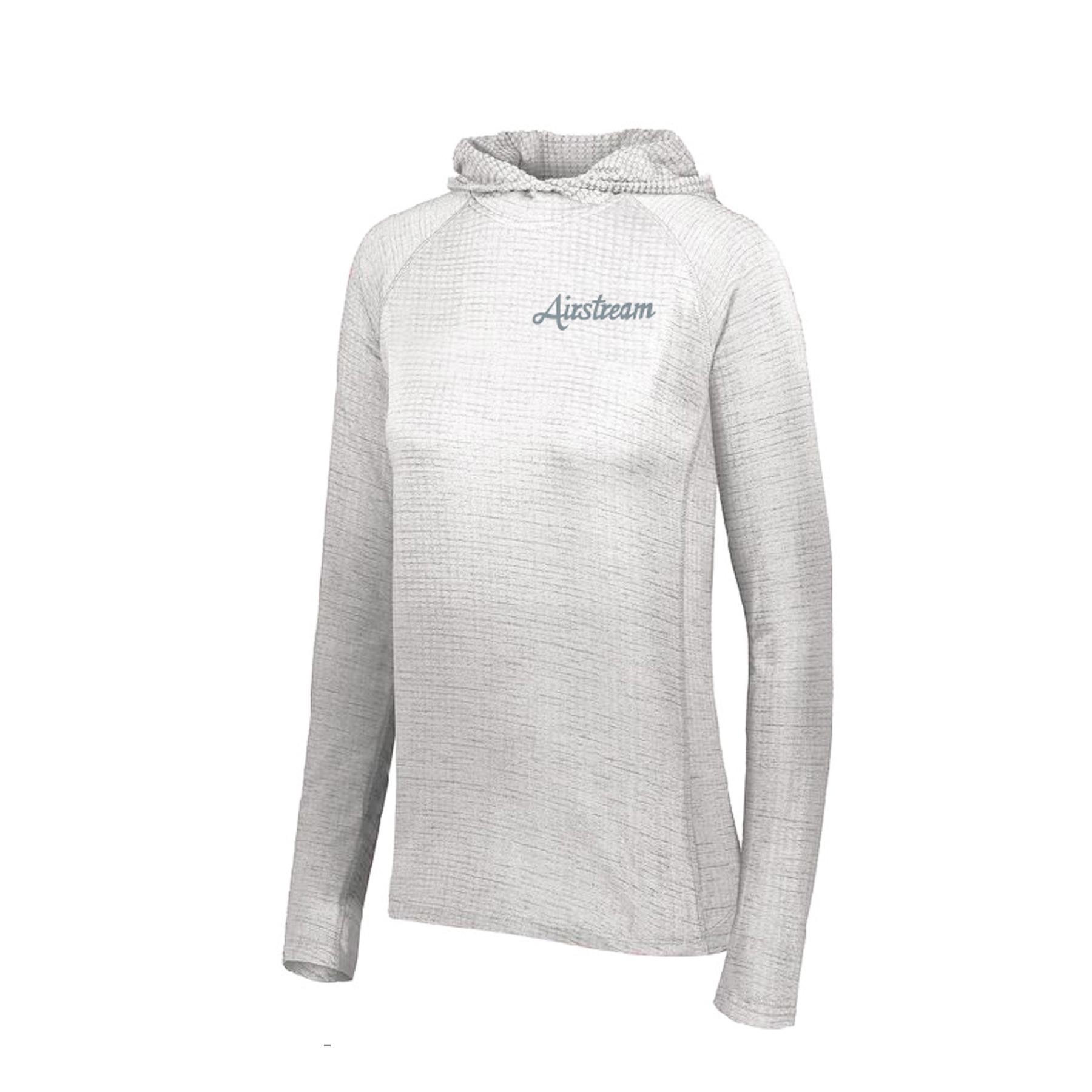 final augusta womens light weight hoodie script logo