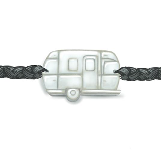 airstream trailer bracelet