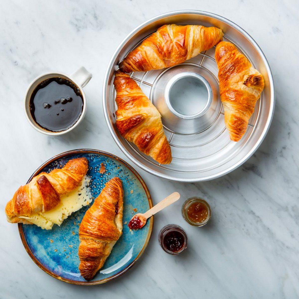 omnia oven rack croissants
