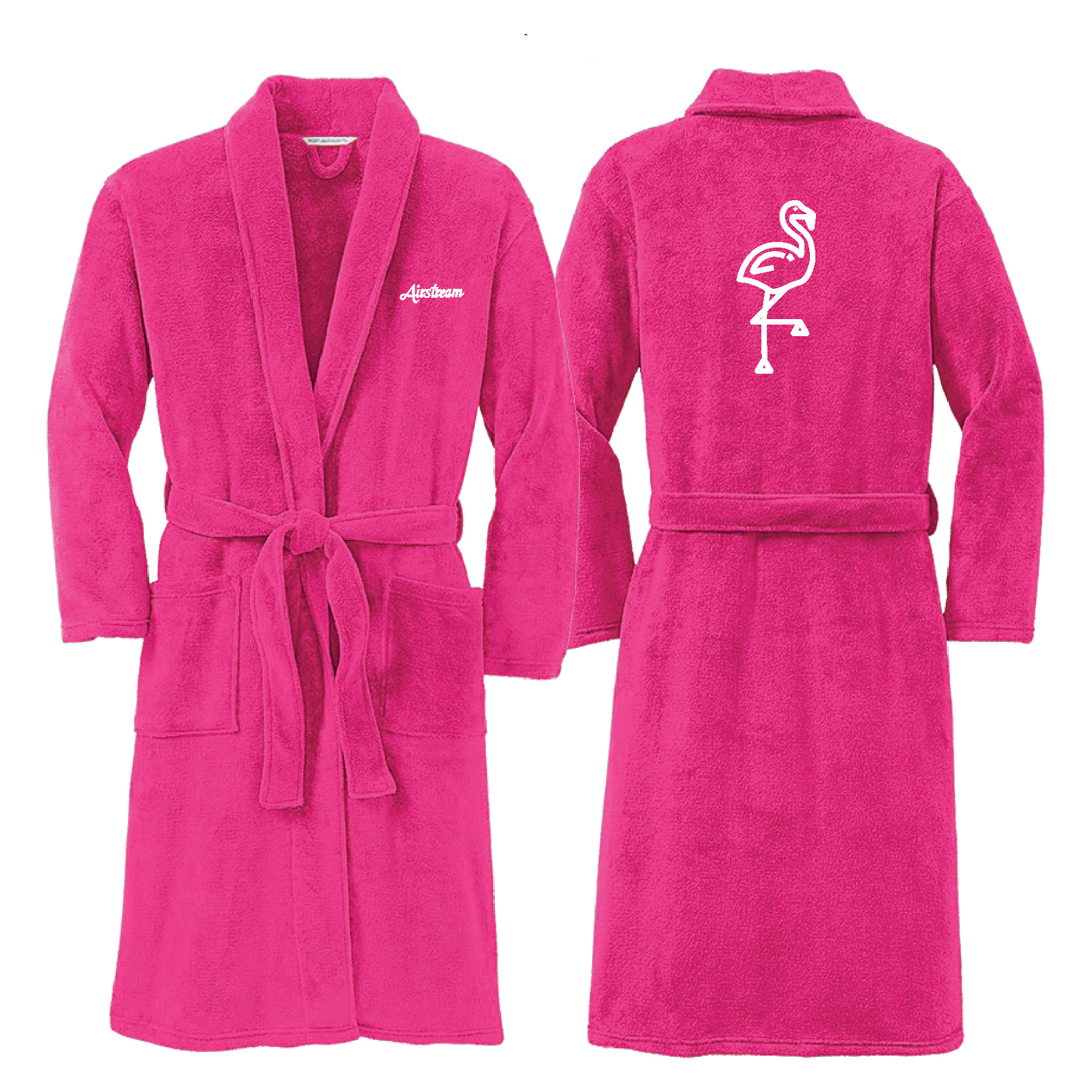 studio eleven robe pink