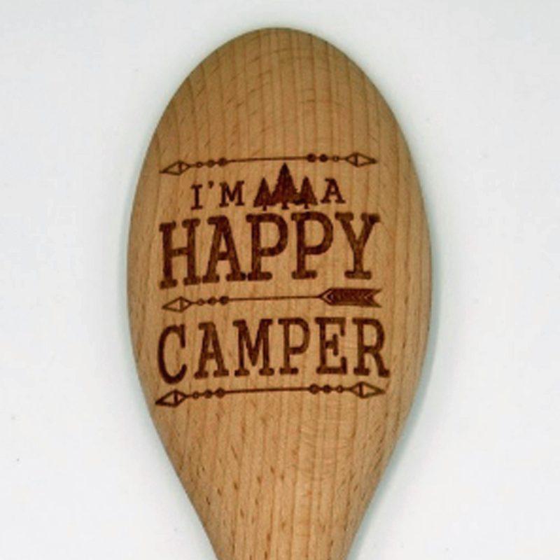 meraki spoon Happy Camper