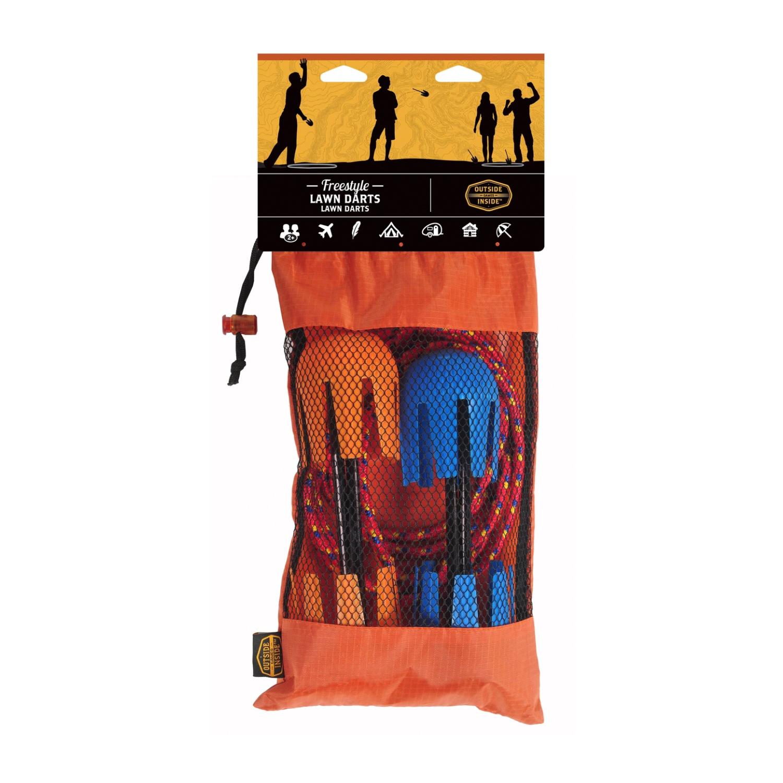 gis outside inside lawn darts carry bag