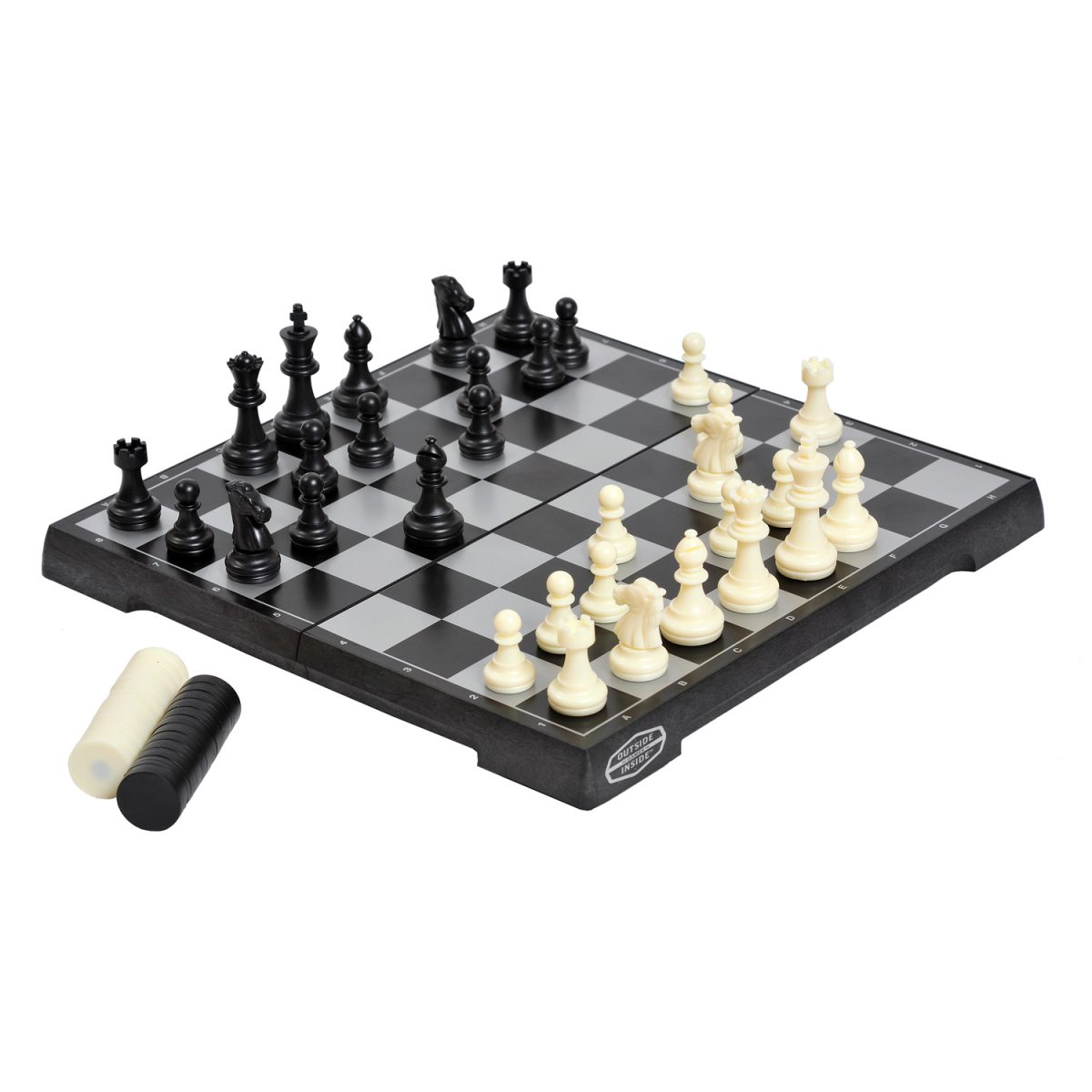 GSI Outside Inside magnetic chess checkers hi res