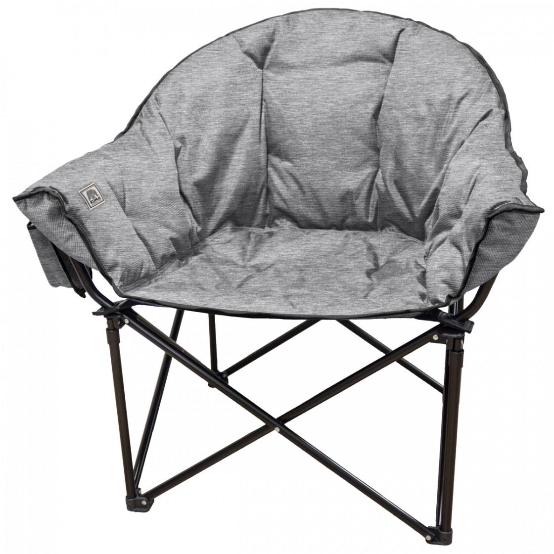 kuma lazy bear chair - heather gray