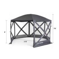 kuma gazebo with dimensions