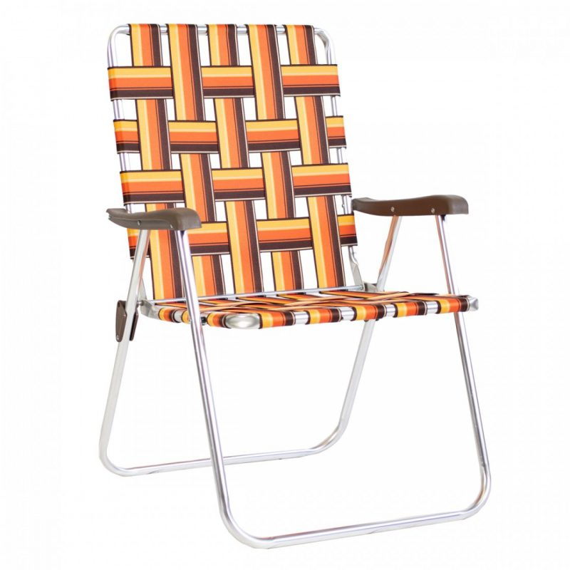 kuma 830 backtrack chair KELSO orange brown