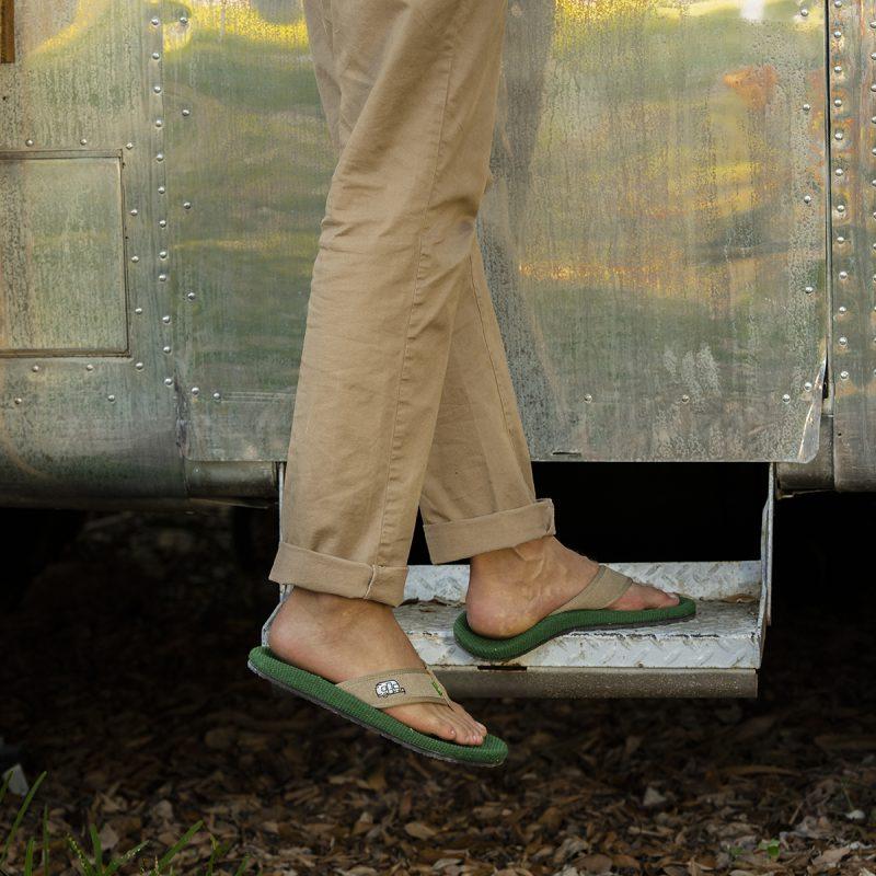 Sanuk + Airstream Men's Furreal Flip Flop